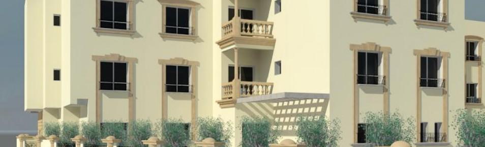 Four Story Apartment